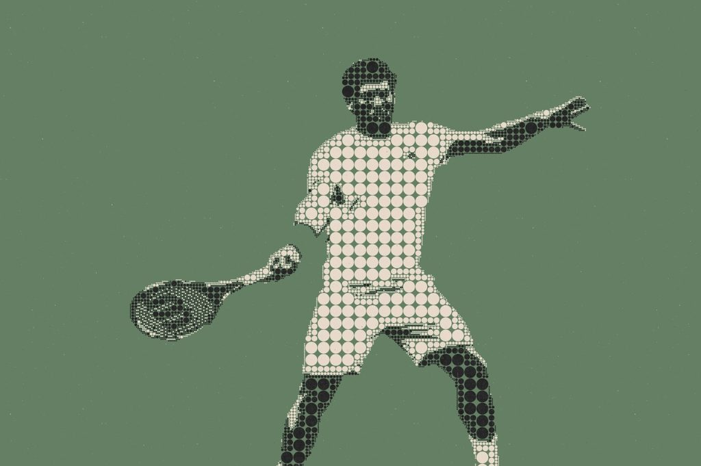 テニスダブル後衛おとこ1