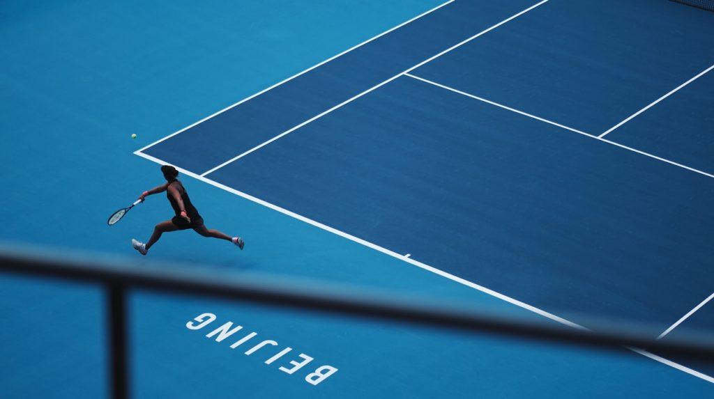 ソフトテニスラリー練習