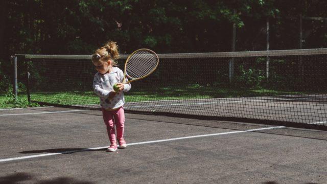 テニス初心者