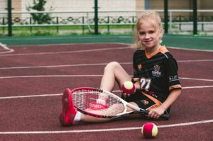 テニス前衛1