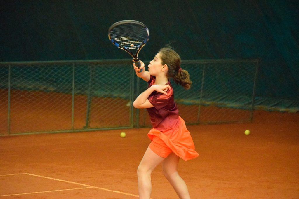 ソフトテニス初心者のフォアハンド