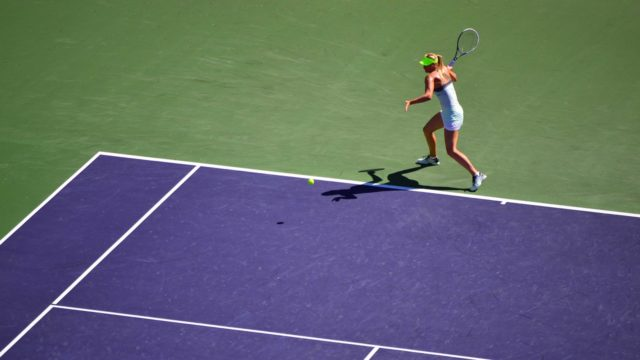 ソフトテニスのフォアハンド