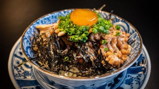 鳥取スタミナ納豆丼